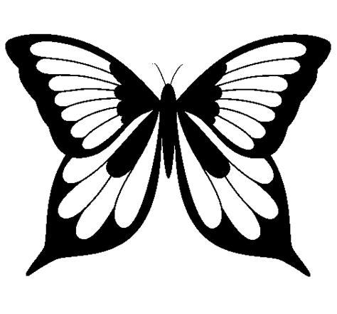 imagenes de mariposas realistas dibujo de mariposa 19 para colorear dibujos net