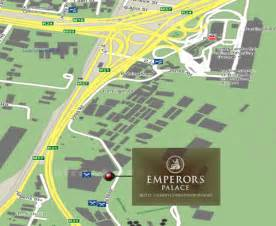 emperors palace casino map best guide for south