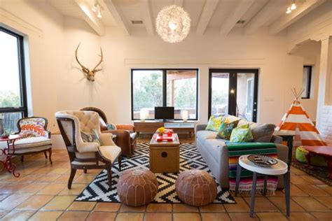 eclectic single family home boasts fun colors whimsical
