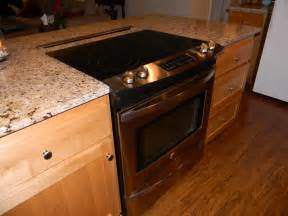kitchen islands with stove top remodeling the kitchen schue