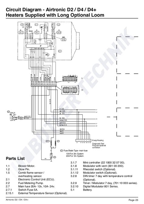 airtronic d2 wiring diagram wiring library