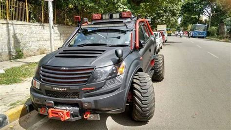 Car Modification Us by Modifications On An Xuv 500 In Bangalore