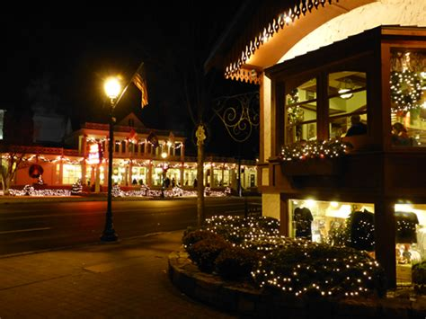 a start to the christmas season in frankenmuth michigan