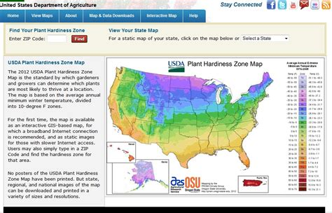 zones for gardening map usda hardiness zones