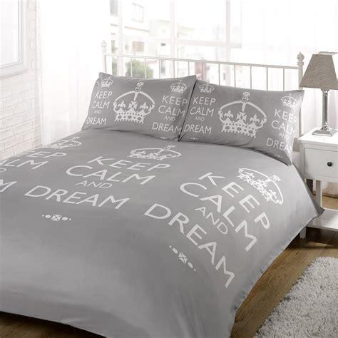 Superking Bedding Sets Duvet Quilt Cover Bedding Set Grey Single King Kingsize King Ebay
