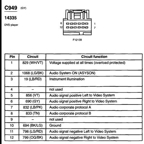2004 ford explorer sport trac radio wiring diagram