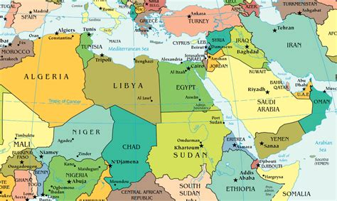 middle east map africa middle east news images