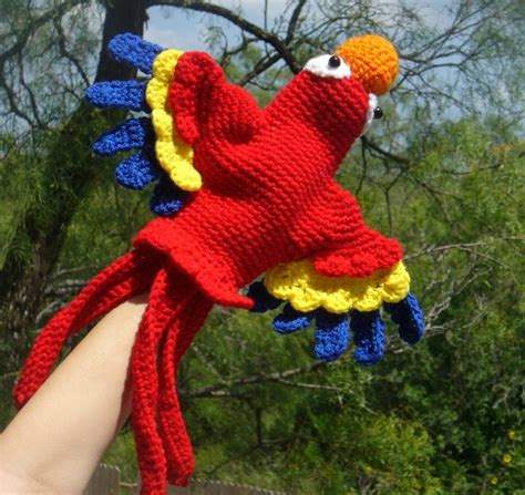 parrot knitting pattern free scarlet macaw puppet crochet pattern this would be