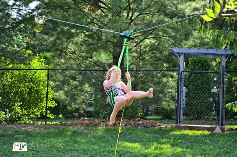 zipline for kids backyard 17 best images about how to make a zip line on pinterest