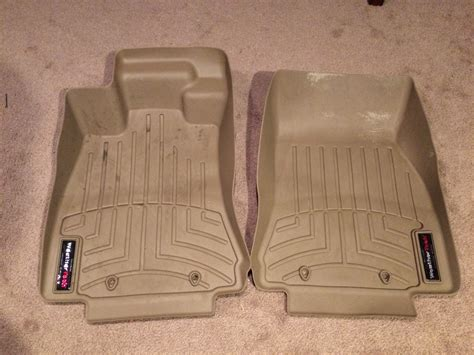 weathertech front floor liners for sale beige for rwd