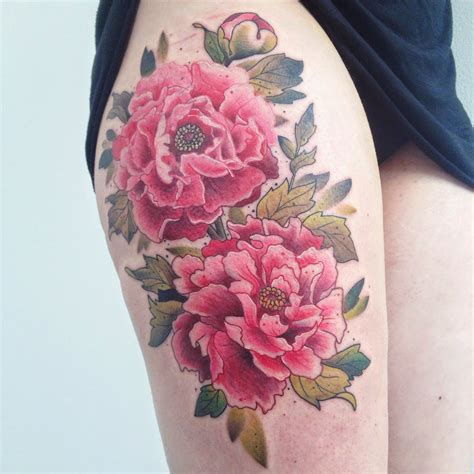 peony flower tattoo peonies peonies and tattoos and on