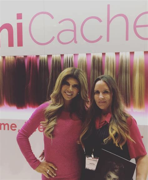 does teresa giudice have hair extensions real housewives of remi cachet with teresa giudice