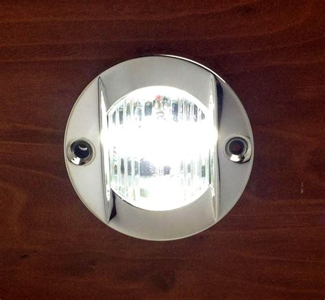 led stern lights for boats marine transom round led stern light stainless steel