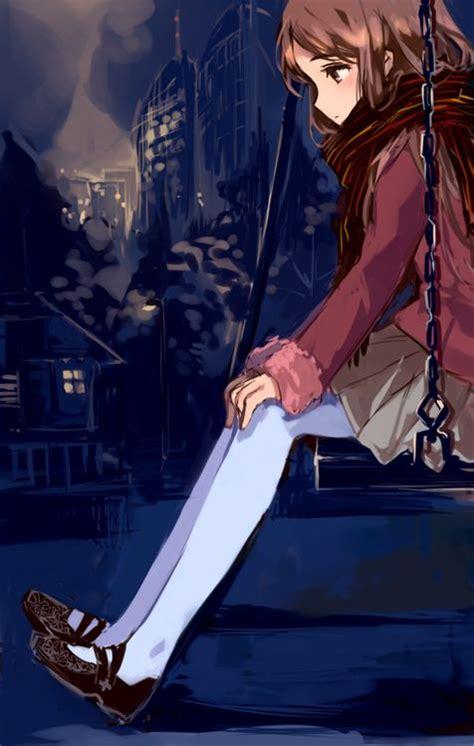 anime swing anime girl on swing anime pinterest manga