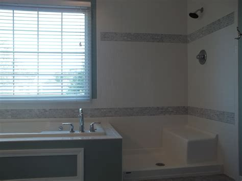 bathtub and surround combo tub shower combo surround twelve stones tile laminate