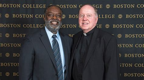 Boston College Mba Community Service by Dan Bunch Honored