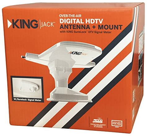 king oa8200 hdtv the air antenna with mount and built in signal new ebay