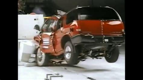 1996 olds bravada youtube 359 1996 2001 oldsmobile bravada moderate overlap crash test youtube