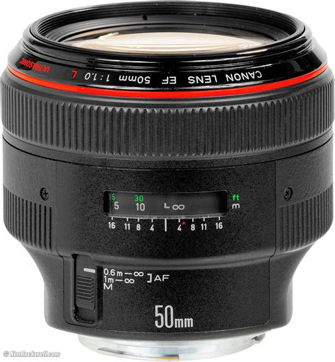 Lens Canon 50mm canon 50mm f 1 0 review