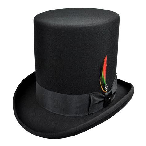 top hat jaxon hats stovepipe wool felt top hat top hats