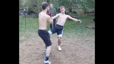 backyard mma mma scrap in satans backyard youtube