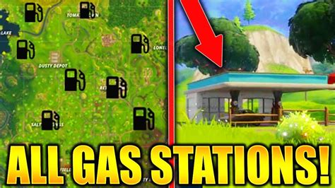 fortnite gas stations fortnite all gas station locations quot visit different gas