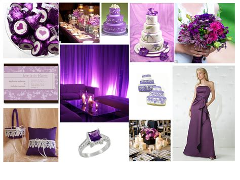 the color purple themes purple wedding theme the smart