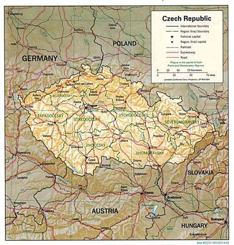 czechoslovakia map nationmaster maps of republic 10 in total