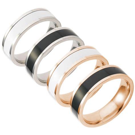 tungsten carbide ring silver gold black brushed wedding