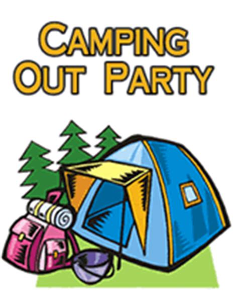 camp out invitations printable free free camping out party printable invitations