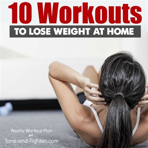 10 great at home workouts to help you lose weight from