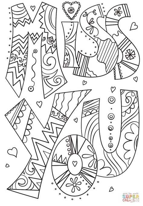 html printable version click the we miss you coloring pages to view printable