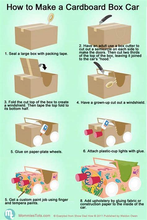 how to make boxes out of card how to make a cardboard box car materials cardboard