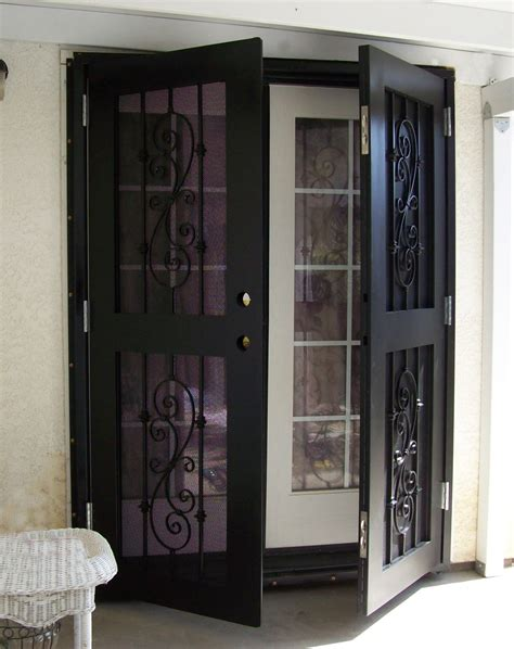 Patio Single Door by Beautiful Securing Doors On Of Patio Security Doors