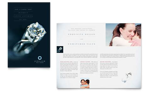 professional jeweler archive the ultimate wedding gift jeweler jewelry store brochure template word publisher