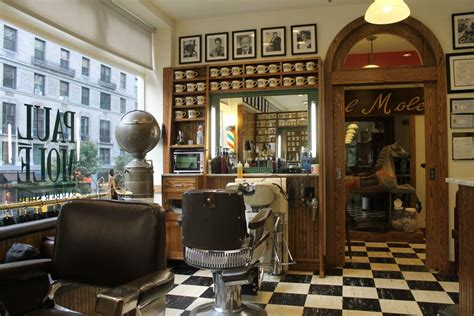 authentic vintage barber shops  nyc untapped cities