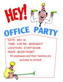 14 free office party invitation templates hloom com