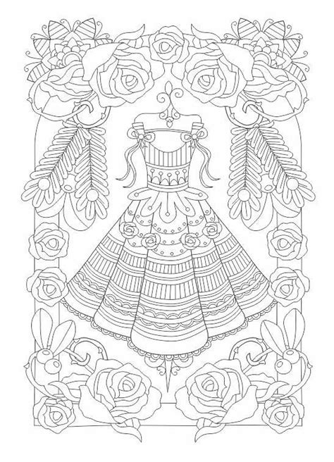 girly coloring pages for adults 17 beste afbeeldingen over coloring pages girly fashion