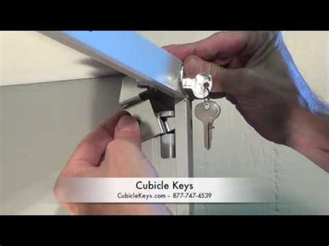 How To Install A Lock On A Cabinet Door by Hon F26 Vertical File Cabinet Lock Kit Install