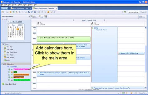 lotus notes calendar template lotus notes calendar calendar template 2016