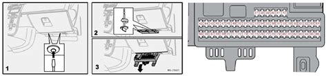 volvo s40 v50 2004 to 2013 fuses list and erage