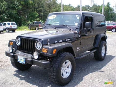 jeep black rubicon black 2006 jeep wrangler unlimited rubicon 4x4 exterior