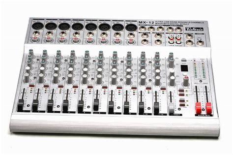 Mixer Audio Profesional pro audio pro mixer mx 12 pro mixer