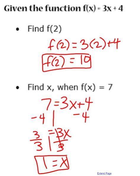 function notation micaela dougan