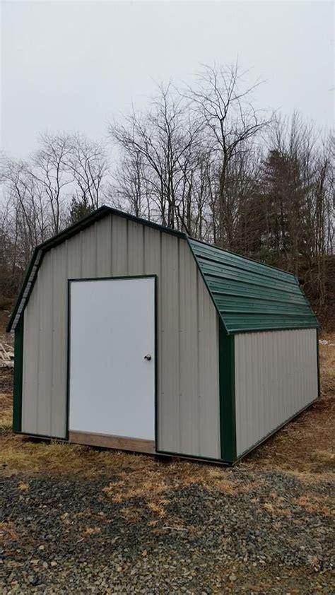 metal gambrel storage shed  garden storage shed
