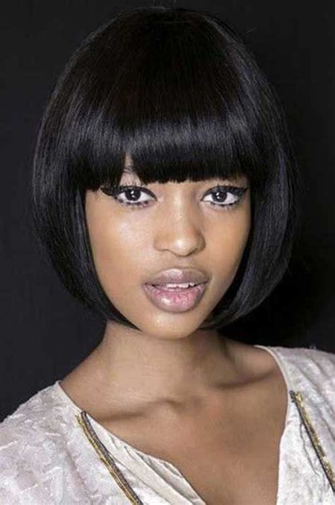 wrap hairstyles for black women haircuts image haircuts image short hairstyles with bangs for black women short