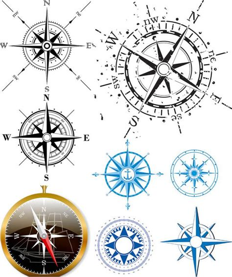 compass tattoo graphic wind rose tattoos pinterest graphics compass and