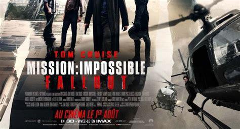 mission impossible fallout en french dvd quot mission impossible fallout quot tom cruise revient dans