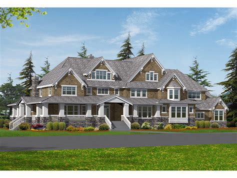 Luxury Craftsman Style Home Plans | sofala luxury craftsman home plan 071s 0048 house plans