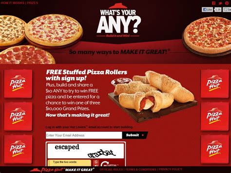 Pizza Hut Background Check Pizza Hut What S Your Any Promotion